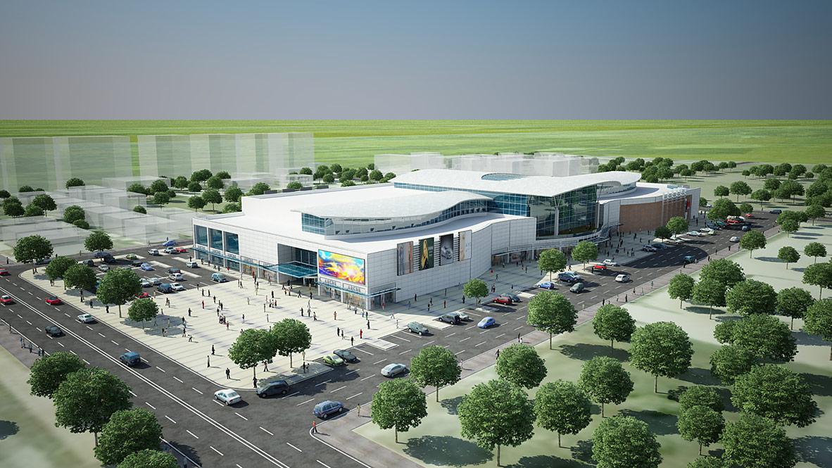 Osmaniye Shopping Centre - A Architectural Design